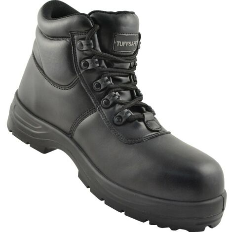 Black Safety Boots, Metal Free