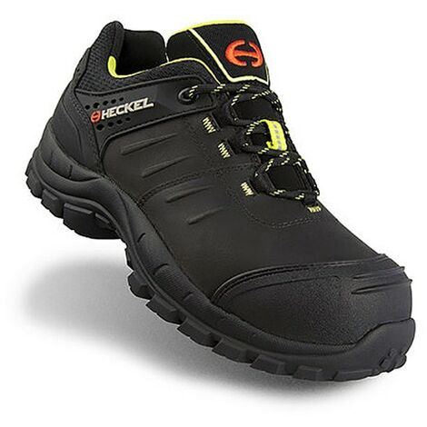 Black Safety Trainers, 100% Metal Free