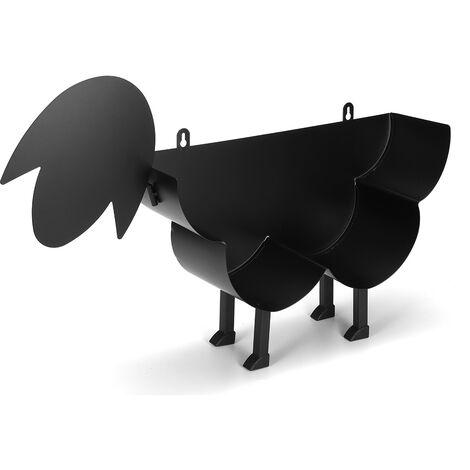Black Sheep Cat Dog Portarrollos de papel higiénico Papel Baño Hierro Independiente (Oveja)