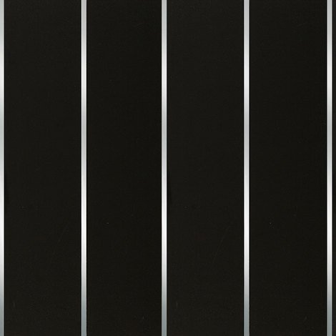 Black Silver Strip Wall & Ceiling Panels 200x2700x6mm 5 Pack