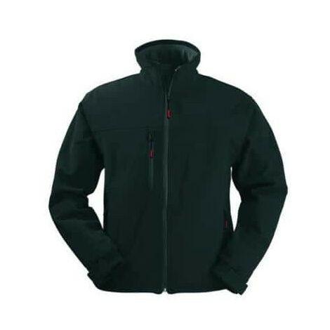 Black Softshell Jacket Yang Coverguard size S
