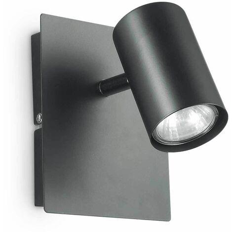 "main image of ""Black wall light SPOT 1 bulb"""