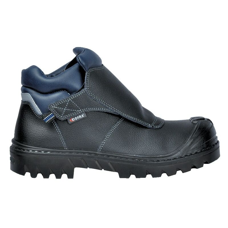 Image of Cofra Black Welder BIS UK S3 HRO SRC Safety Boots - Size 9