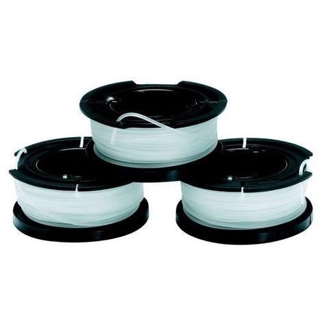 BLACK&DECKER A6485-XJ - Bobina con hilo de 10m de largo y 1.5 mm de diámetro Env de 3 uds
