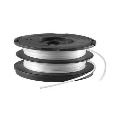 BLACK&DECKER A6495-XJ - Bobina con hilo de 2x6m de largo y 1.5mm de diámetro