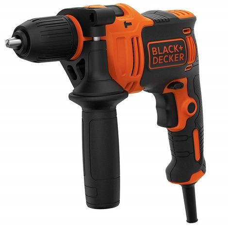 BLACK&DECKER BEH710-QS - Taladro eléctrico percutor 710W 13mm 2.800 rpm 23.3Nm 47.600 ipm