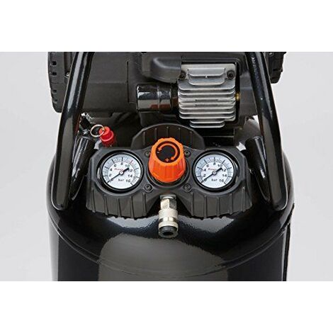 Black&Decker NKDV404BND312 Compresseur portatif, 1500 W, 230 V, Noir