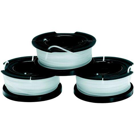 Black&Decker Pack 3 bobinas A6485XJ 3X10Mt-1,5mm Reflex simp