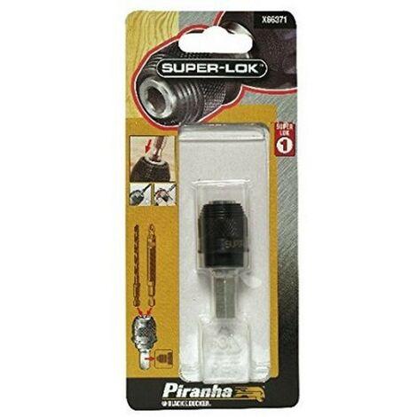 BLACK&DECKER X66371-XJ - Conector rápido con anclaje interior capaz de alojar brocas y puntas de atornillar