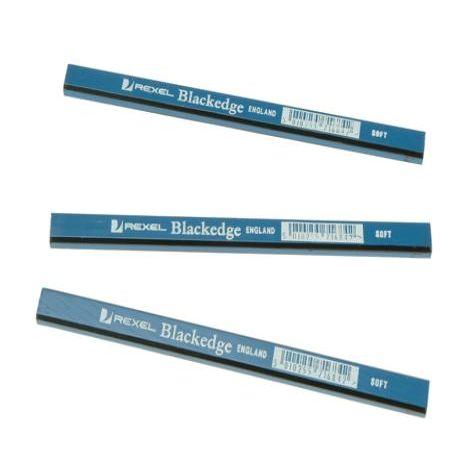 Blackedge Carpenters Pencils - Blue/Soft