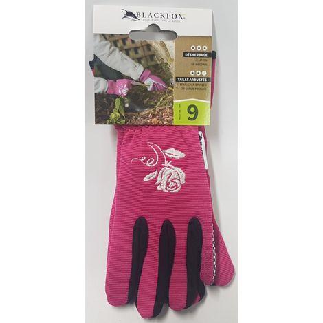 BLACKFOX® Handschuhe GRIPPER fuchsia Größe 9