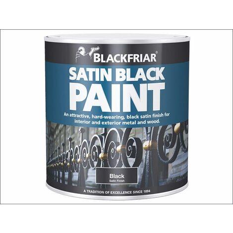 Blackfriar Anti-Climb Vandal Security Paint - Outdoor Semi-Matt Black