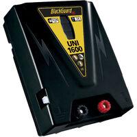 BlackGuard Électrificateur à double barrière électrique - Blackguard UNI 1600 - batterie 12V / secteur 230 V