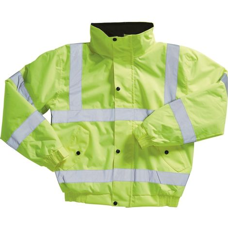 Blackrock Adults Hi-Viz Bomber Jacket