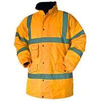 Blackrock Baratec Hi Vis Contractor Parka Jacket Coat High Viz Visibility - Yellow