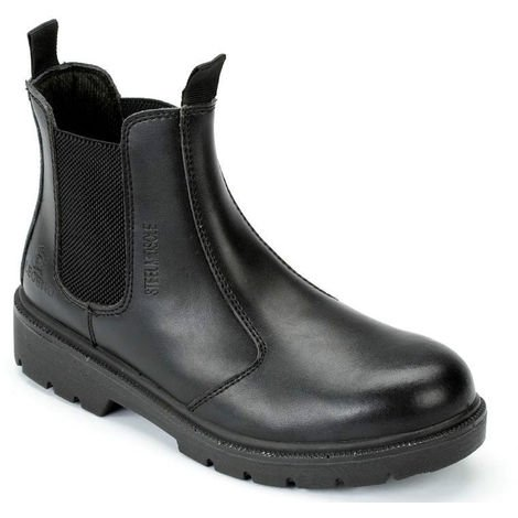 e42946f054c Blackrock Dealer Steel Toe Cap Protective Safety Slip On Boots