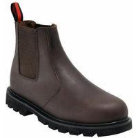 Blackrock Dealer Steel Toe Cap Protective Safety Slip On Boots