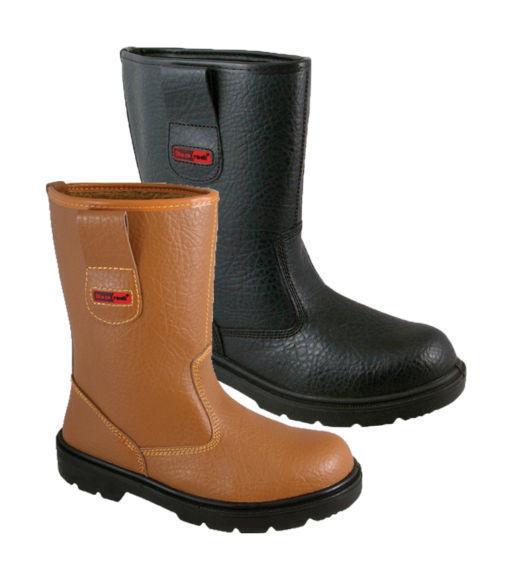 e0ceb66603a Blackrock Fur Lined Work Wear Safety Rigger Boot - Black