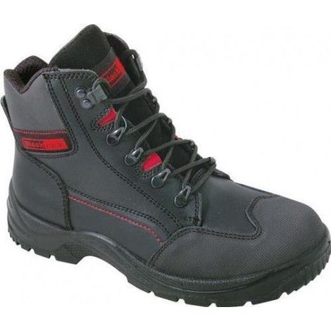 buy popular 0b83d a34d8 Blackrock Panther Steel Toe Cap Lightweight Safety Boot Black Boots - size  10