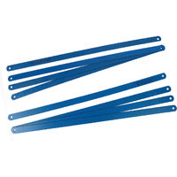 Blackspur - Hacksaw Blades - Metal Cutting Saw Refill - 300mm - 8pc