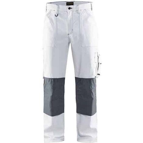 BLAKLADER Pantalon de travail peintre blanc - 1091