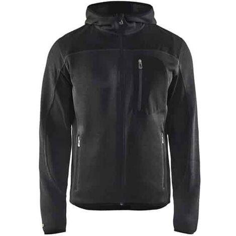 BLAKLADER Veste tricotée à capuche - 4930