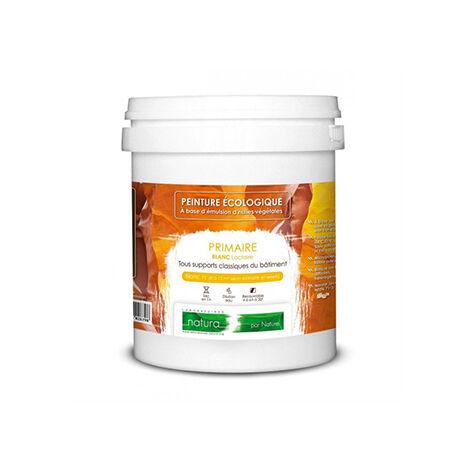 blanc - 10L - Sous-couche écologique pour peinture naturelle murs et boiseries int/extérieur Natura (1L/10m2)
