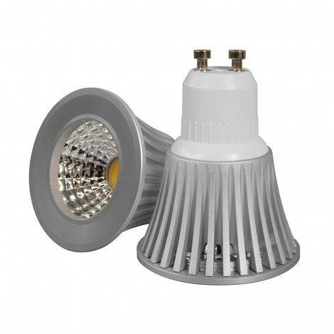 Blanc Chaud - Ampoule LED GU10 Dimmable - 5W - COB Bridgelux
