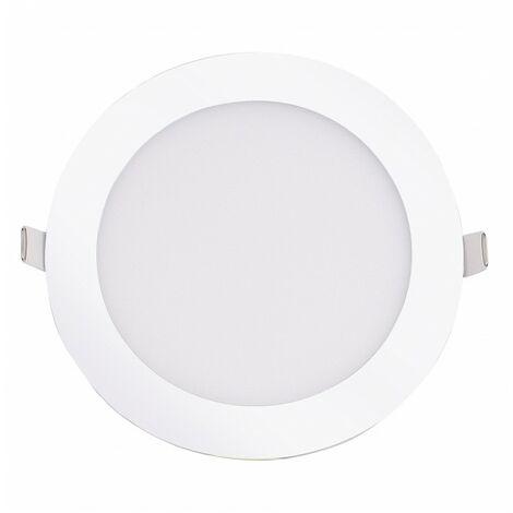 Blanc Chaud - Encastrable LED extra-plat - 12W - Rond - D168.5mm - DeliTech® - Blanc Chaud