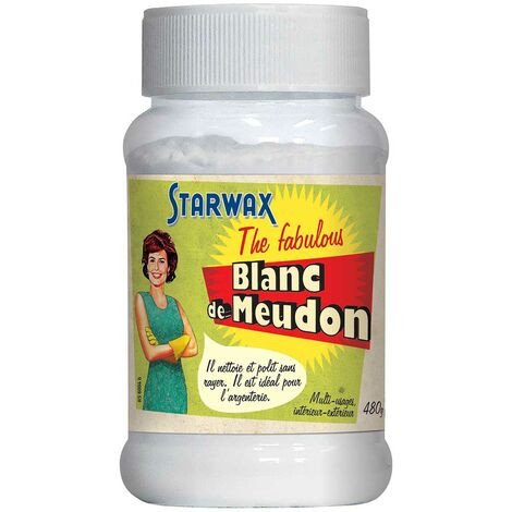 Blanc de Meudon 480g STARWAX FABULOUS