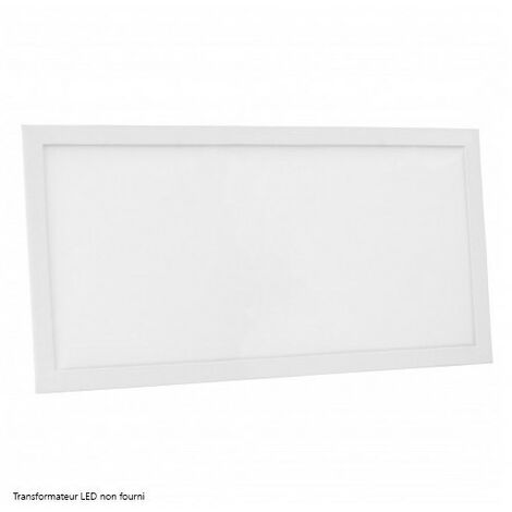 Blanc Froid - Dalle LED NOVA - 60x30cm - 24W - DeliTech - Alim. non fournie