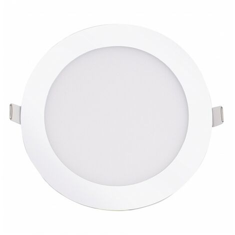 Blanc Neutre - Encastrable LED extra-plat - 12W - Rond - D168.5mm - DeliTech® - Blanc Neutre