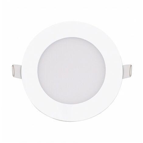 Blanc Neutre - Encastrable LED extra-plat - 6W - Rond - D119.5mm - DeliTech®