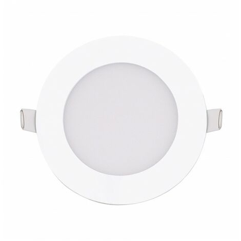 Blanc Neutre - Encastrable LED extra-plat - 6W - Rond - D119.5mm - DeliTech® - Blanc Neutre