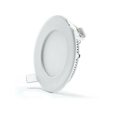 Blanc Neutre - Spot Encastrable Extra-plat - D120mm - 6W - SMD Epistar