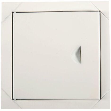 Blanc panneaux métalliques des portes d'accès du panneau de trappe d'inspection de l'accès de 150x150mm