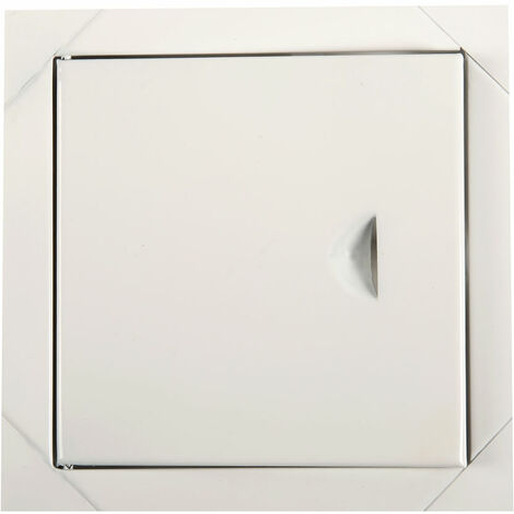 Blanc panneaux métalliques des portes d'accès du panneau de trappe d'inspection de l'accès de 200 x 200 mm
