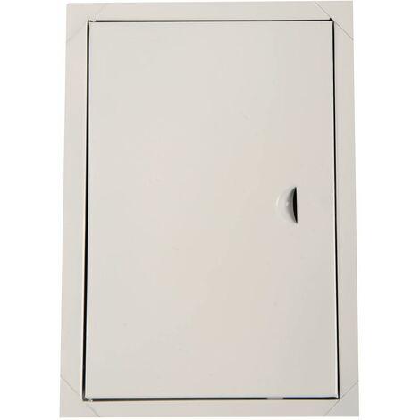 Blanc panneaux métalliques des portes d'accès du panneau de trappe d'inspection de l'accès de 200 x 250 mm