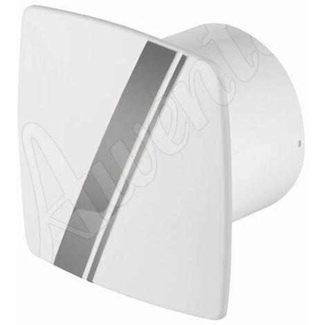 Blanc salle de bain mur de la cuisine hotte aspirante 100mm Awenta style linea avec tirette