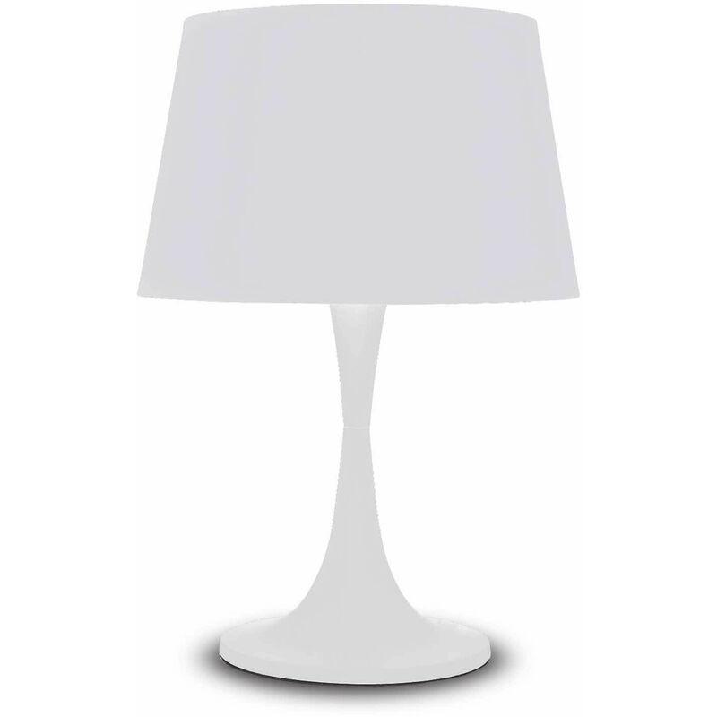 Blanche LONDON Tischleuchte aus 1 Lichtmetall - 01-IDEAL LUX