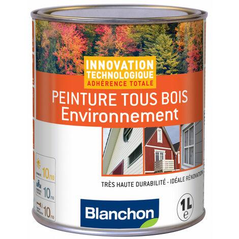Blanchon Peinture Tous Bois Environnement 1L - Plusieurs modèles disponibles
