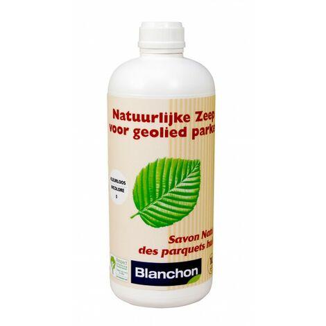 Blanchon : Savon naturel blanc parquet 1 Litre