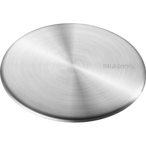 Blanco Caplfow, cache bonde à poser pour éviers Blanco, Acier inoxydable (517666)