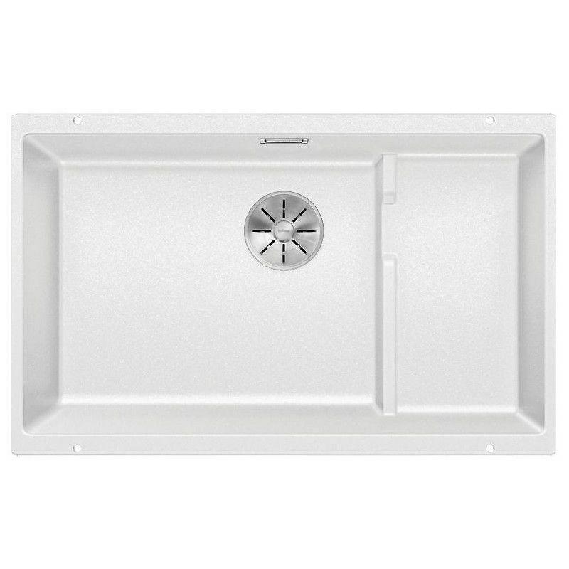 Evier Blanco Subline 700-U Level Silgranit - Blanc - Accessoire : Sans