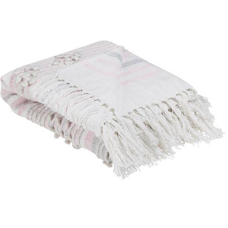 Blanket 120 x 150 cm Pink KAMAN