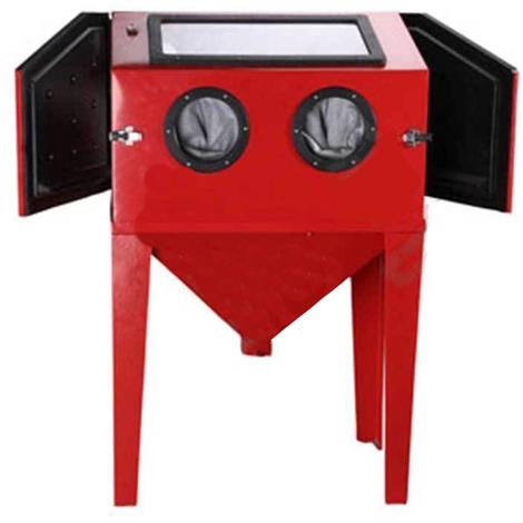 Blast Sandblasting Cabinet 450L Bench Sandblaster Sand Grit Blasting Blaster