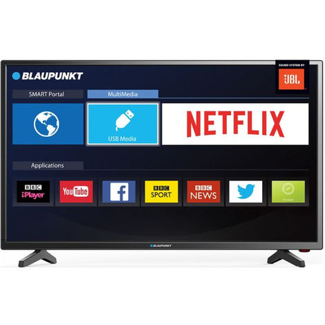 """Blaupunkt BLA-32/138M 32"""" Inch Smart HD LED TV with Freeview HD and JBL Speakers"""