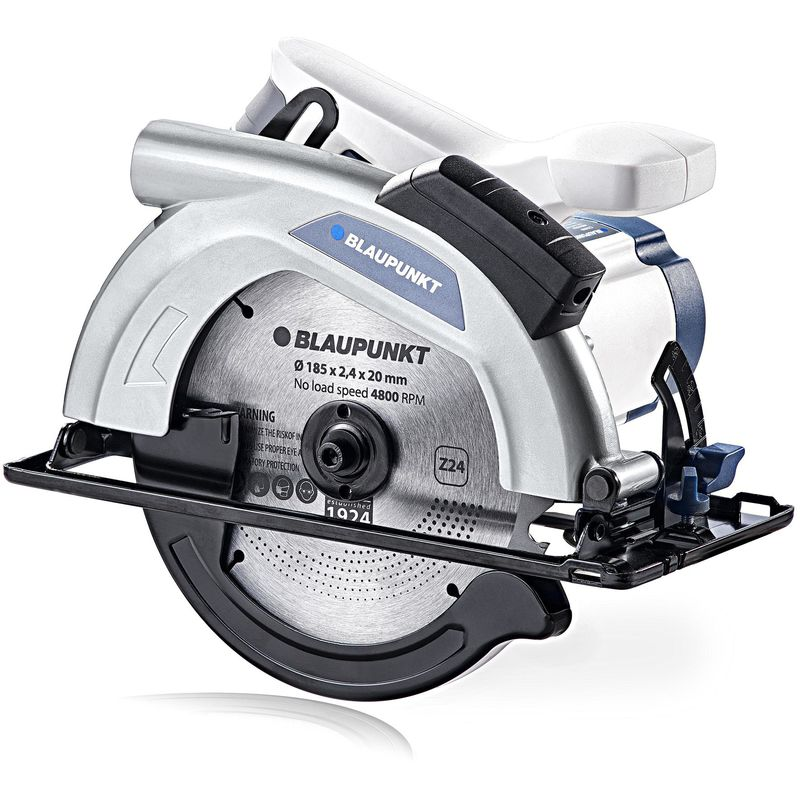 Image of Blaupunkt Electric Circular Saw CZ3000 - 185mm - 1300W - 4800rpm - Laser Guide