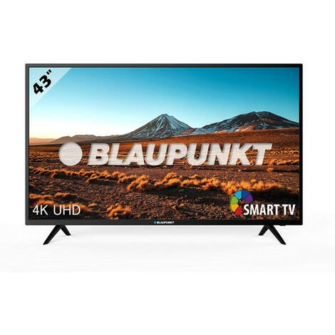 """main image of """"Blaupunkt tv 43'' (bs43u3012oeb) 4k ultra hd tv 2160p dvb-t/t2/c/s/s2,hevc/usb multimedia"""""""