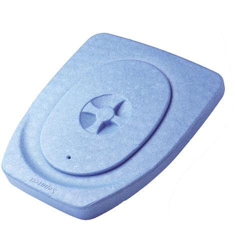 BLEU - 0,75 - LUNETTE TOILETTE SÈCHE DE JARDIN SEPARETT - bleu